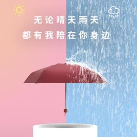 明星推荐【BANANA胶囊伞】迷你超轻晴雨两用, 抗风防水,抗紫外线,超强防晒防雨