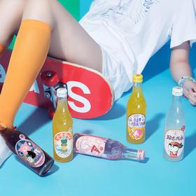 【现货!潮酷饮品 有颜有内涵】汉口二厂 网红潮饮 果汁汽水 多款式选择