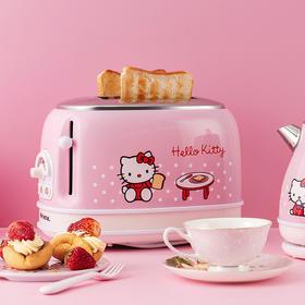 Since 1964意大利老牌 Ariete/阿里亚特 Hello Kitty系列面包机多士炉 电热水壶 迷你爆米花机