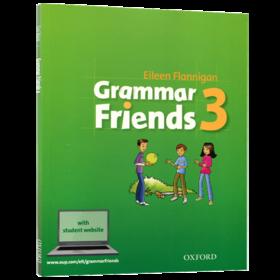Oxford Grammar Friends 3 牛津小学英语语法书 英文原版 和语法做朋友涵盖剑桥少儿英语考试语法 全英文版小学教辅书进口书籍