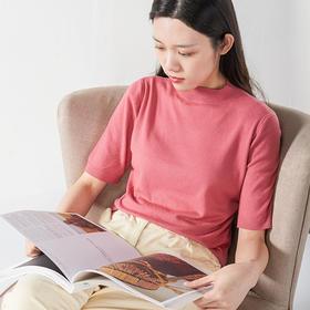 纤束马针织短袖 | 复古时髦,减龄显瘦,轻松穿出高级感