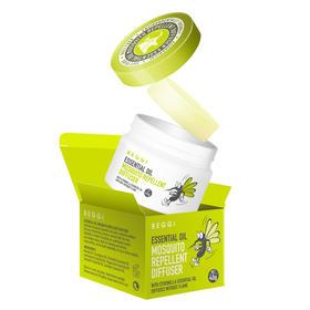 新西兰BEGGI 植物精油驱蚊精灵 纯植物提取,安全有效,孕妇婴儿都可用 无需插电,即开即用