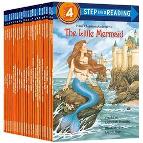 美国企鹅兰登经典分级读物 第四阶段23册 兰登英语分级阅读绘本