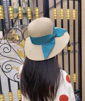 日本UVsentcut品牌KAWATANI系列纸草帽编织防晒帽