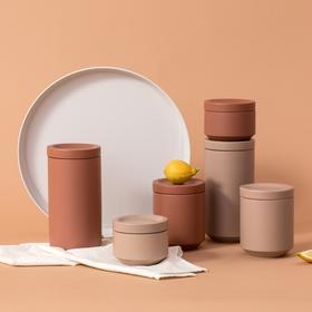【几致】Earth系列丝绒质感瓷器储物罐