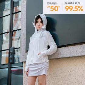 【360°立体防晒,夏日出行无压力】HELLOFREE专业防晒衣UPF50+  一件等于防晒帽+防风口罩+防晒冰袖
