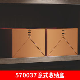 570037意式收纳盒(不折叠)亮桔色 Y01型((联系客服享受专属价格)