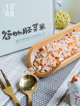 【预售6.10日左右发货】生活选集 谷物胚芽米15日组合装 750g/盒【15g*15袋】