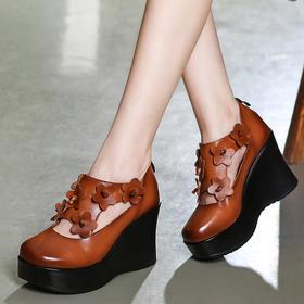 ZYFS23658新款民族风花朵单鞋TZF