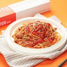下单后48小时发货!【好吃又方便的意大利面 】必胜客同厂的空刻烛光意面 番茄肉酱、黑椒牛柳、奶油培根、咖喱鸡肉、红酒香肠