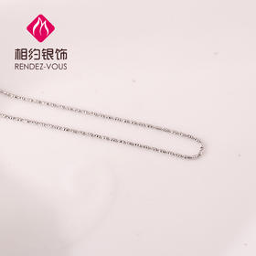 相约银饰S925银项链素银项链