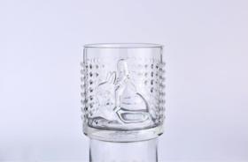 浮雕水杯《月光兔-英伦菱格杯-白》贾晓鸥 8.5×9.3cm