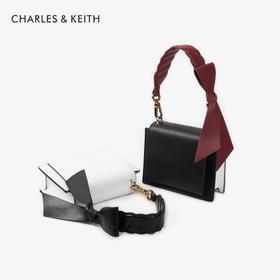 【为思礼】2020春夏新潮流 CHARLES&KEITH 抖音包 洋气宽肩带小方包小众感