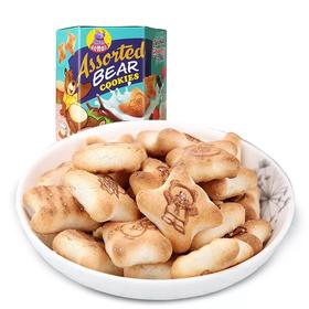 印度尼西亚进口河马莉多味小熊造型夹心饼干
