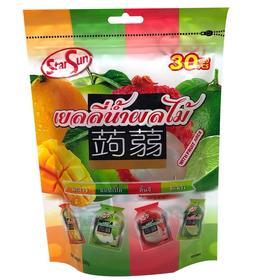 泰国进口starsun可吸式果冻390g  综合果味/什锦果味