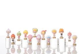 潮玩手办《白夜童话番外-卡路里》系列 贾晓鸥 7×4×8cm