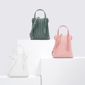 【为思礼】2020春夏新潮流 CHARLES&KEITH 透明材质女士托特包 网红时尚百搭