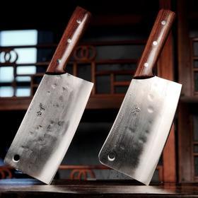 一对趁手厨刀,切菜切肉又稳又顺、省时省力:合手文武双刀