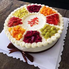 祝寿水果蛋糕