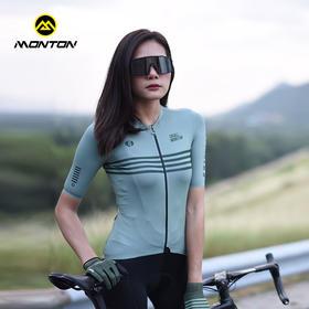 Monton骑行服春夏2020新款骑行短袖上衣男女 七元素
