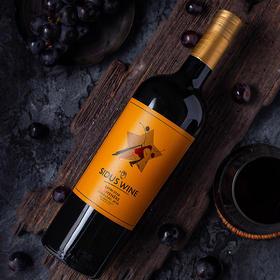 拉丁之星金标 佳美娜干红葡萄酒375ml