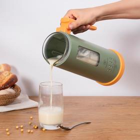 【顺丰直发,限时送价值199元的榨汁杯】美国西屋迷你小型豆浆机全自动1-2人家用单人破壁免过滤小料理机