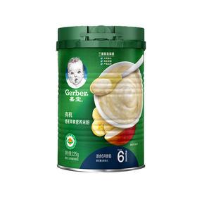 嘉宝.有机香蕉苹果营养米粉225g