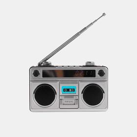 复古音箱时光音乐盒 | 经典复刻小巧精致 音色饱满声声共鸣