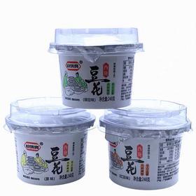 西施即食速食豆花豆腐脑248g 原味/红豆/绿豆