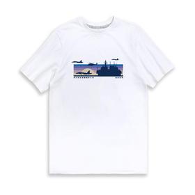 【军武出品】山东舰破晓起航海军文化T恤