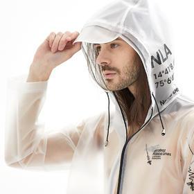 Alcatraz 潮牌风衣雨衣雨披 TPU 潮服设计师 NAZAC 男女同款