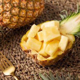 酸甜多汁的云南西双版纳牛奶凤梨  薄皮易切 树上自然熟 产地现摘新鲜直达 8斤装