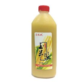 长坂坡玉米浆 粗粮 1.25L/瓶*2瓶