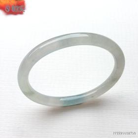 53.1mm糯冰种翡翠手镯