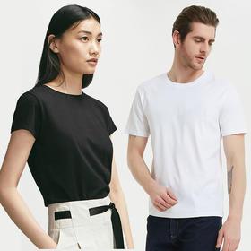 两件88特惠!【冰瓷棉空调T恤男女款】 凉感降温 透气排汗  显瘦有型