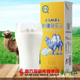 【珠三角包邮】认养新疆骆驼奶 200ml*12支/  箱 (次日到货)