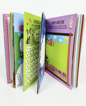儿童益智类游戏书《FarmYard》玩转欢乐牧场·提高逻辑思维