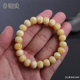 白花老型珠手串
