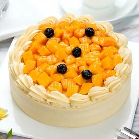 鲜芒果蛋糕