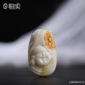 白蜜【福报眼前】雕刻件