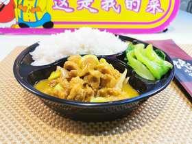 鲍汁黄焖鸡套餐饭浓香味
