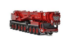 利勃海尔WSI Liebherr LTM1500 CHL(Crane Hire Ltd)涂装红色起重机模型车模1:50
