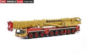 利勃海尔WSI Liebherr LTM1500 BAUMANN涂装黄红起重机模型车模1:50