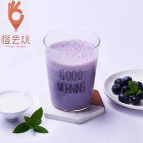 【现榨】蓝莓 奶昔