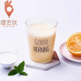 【现榨】香橙 奶昔