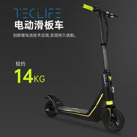 Teclife电池电动滑板车 成人折叠代驾 两轮代步车 迷你电动车电瓶车