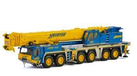 多田野WSI TADANO ATF 400 HAVATDR涂装黄蓝起重机模型车模1:50