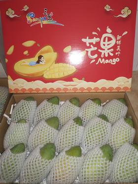 海南台农芒 芒果 精品台农芒礼盒装 带箱10斤(净果8斤)装