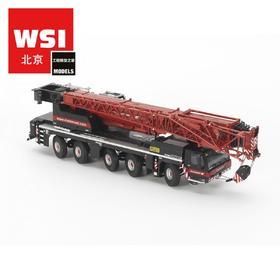 利勃海尔WSI Liebherr LTM1250 大象Mammoet涂装红起重机模型车模1:50