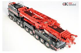 德玛格NZG Demag AC700 大象MAMMOET红涂装起重机模型车模1:50